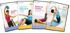 Instructional DVDs and Reformer Manuals